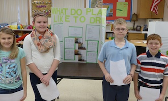 Science Fair first place winners. (Photo submitted.)
