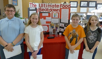 Science Fair second place. (Photo submitted.)