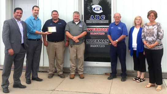 ABCOverholtMoorman joins Chamber 8-2016