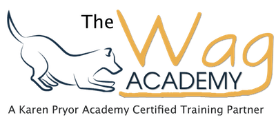 The Wag Academy Dog Training Logo