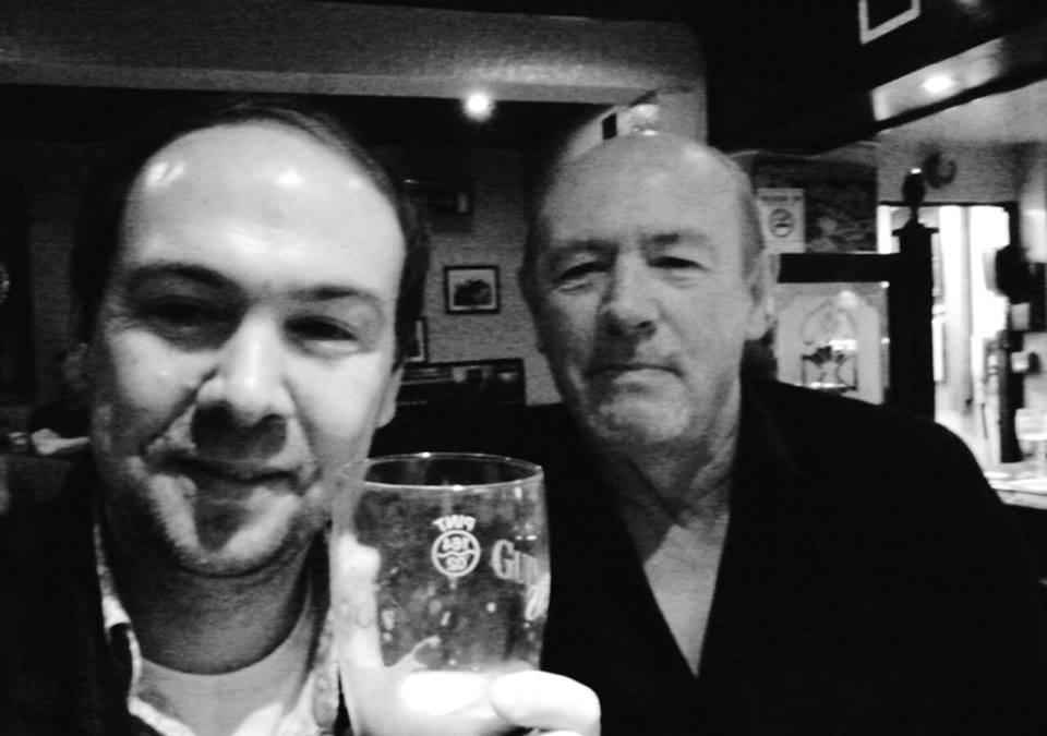 Paul for a short visit in Dublin