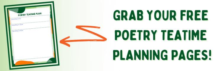 Free Planning Printables for Poetry Teatime