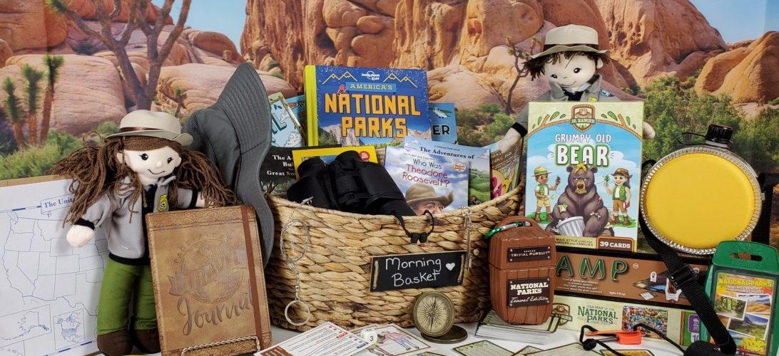 April National Park Morning Basket
