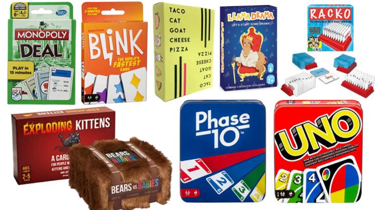 Stocking Stuffers Card Games