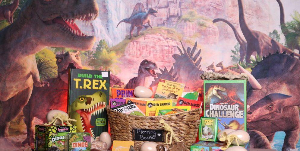 Dinosaur Themed Morning Basket