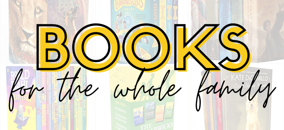 Books the Whole Family will Love