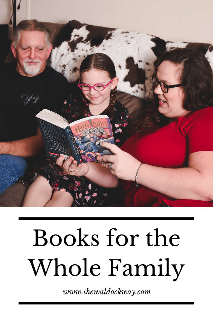 Reading books as a family is one of our favorite ways to spend time together. When we read a book we are making meaningful connections.These books that the whole family will love are perfect for that!