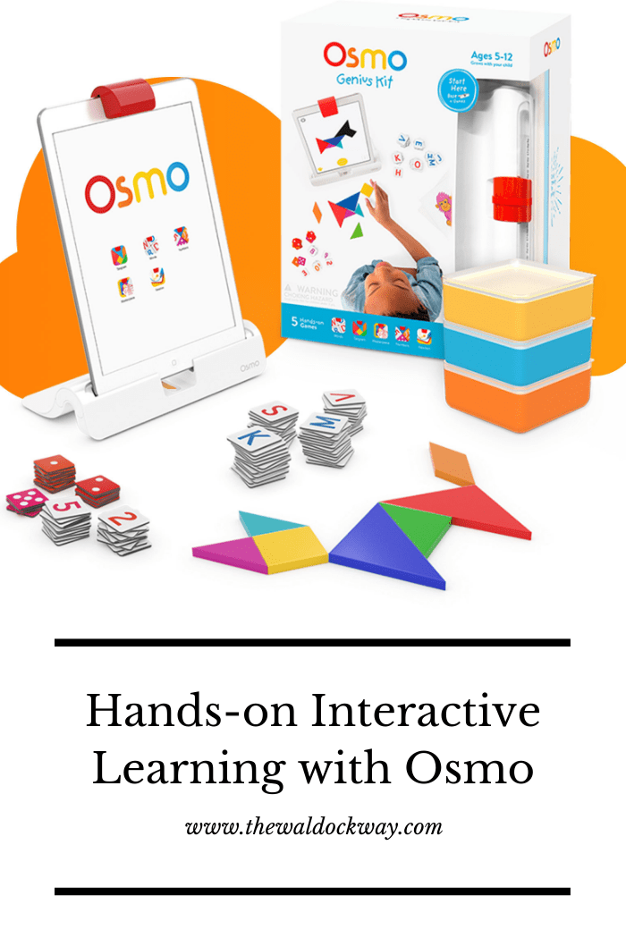 Osmo is an inventive new tool for teaching kids all kinds of important early learning skills through interactive hands-on play.