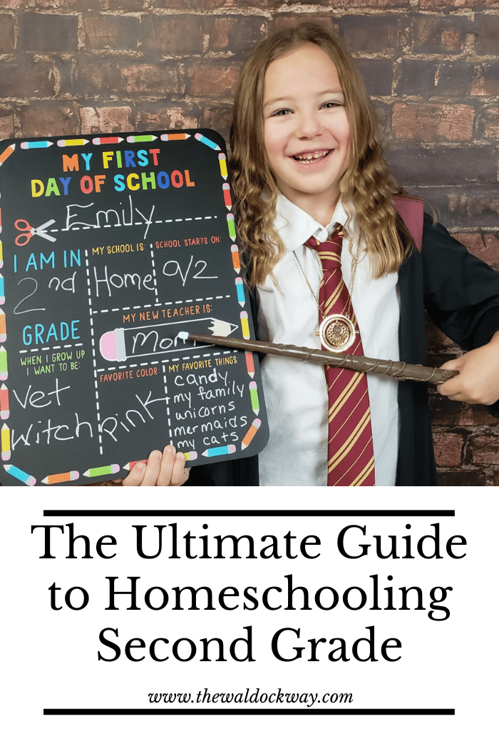 Homeschooling secong grade does not have to be complicated. Let The Waldock Way show you just how easy and fun it can be!