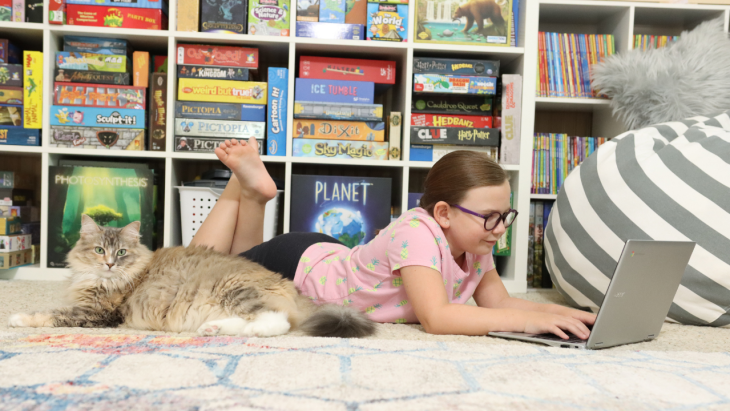 There are lots of awesome learning opportunities you can engage in when you welcome technology into your lesson planning. Discover the best options for learning with screens in your homeschool and how we incorporate them into our homeschool.