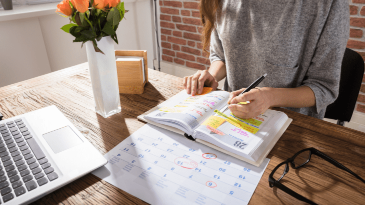 This might be hard for you to hear if you're a recovering type-A planner, but you don't need a homeschool schedule. The pretty color-coded timed plans are gorgeous and I'm guilty of falling for them too. The truth is, those timed schedules are unrealistic for most families.
