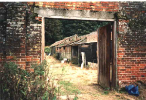 The Walled Garden Suffolk in 1987