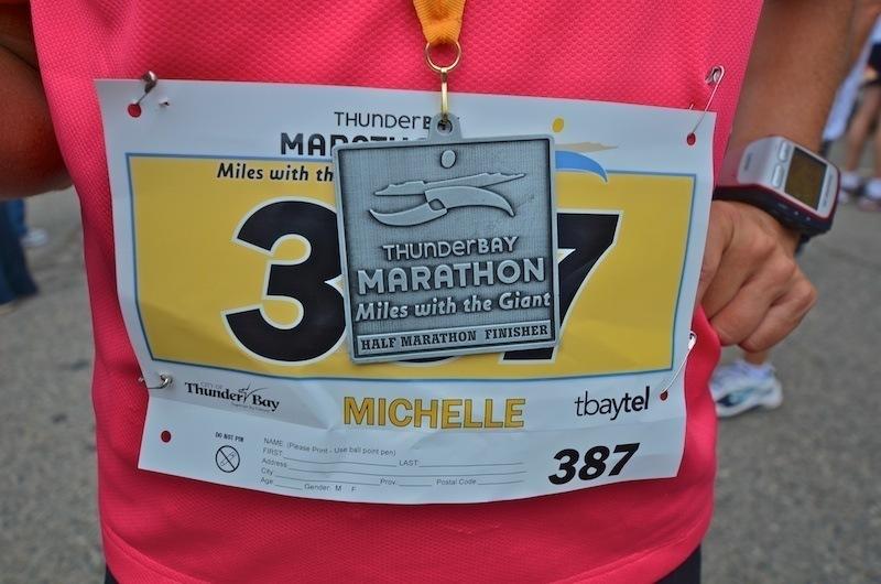 2011 Thunder Bay Marathon – Miles with the Giant