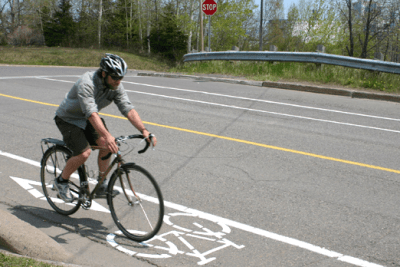 Bike Lanes Open May 1