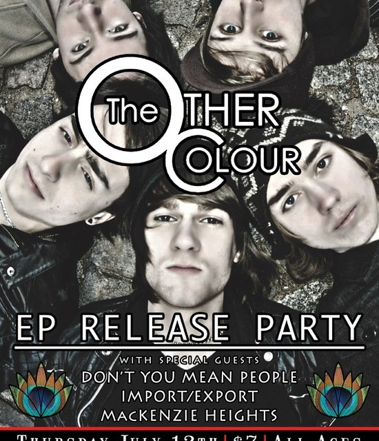The Other Colour's Release Party