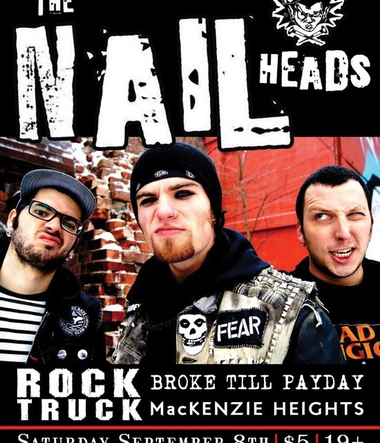 THE NAILHEADS – SEPT 8 at BPP
