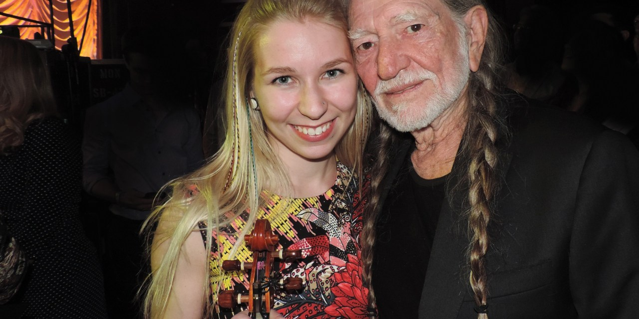 Olivia Korkola Performs with Music Legends