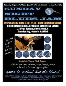 Sunday night Bluesjam