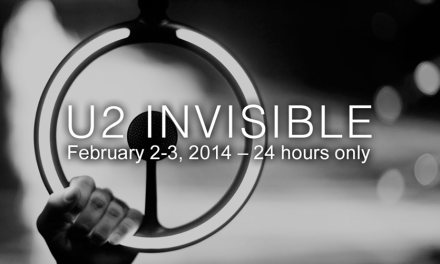 "U2 Releases New Song ""Invisible"" – Free hours on Super Bowl Sunday, February 2"