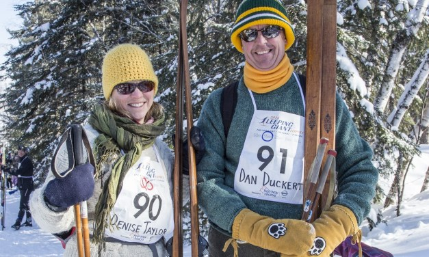 Cold Temperatures, Warm Atmosphere at Sleeping Giant Loppet