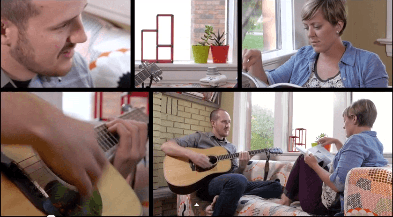 "Jean-Paul De Roover – ""Hope"" (live in the living room) feat. Shannon Lepere"