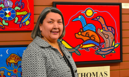 Renewed Optimism in a New Location: Louise Thomas' Ahnisnabae Art Gallery