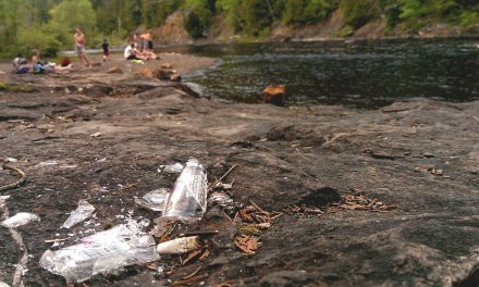 Bring Class, Not Glass: Annual Swimming Hole Cleanup Party
