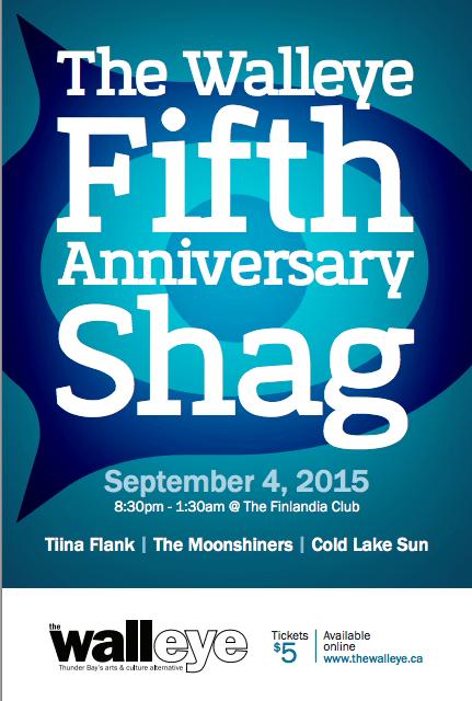 The Walleye Fifth Anniversary Shag