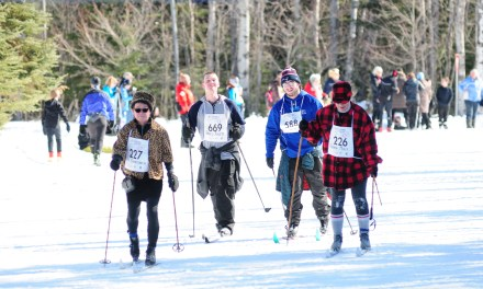 Going Retro at the 39th Annual Sleeping Giant Loppet