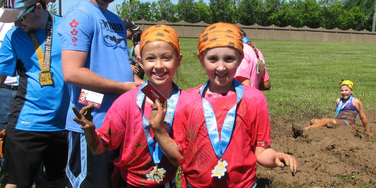 Conquering the Little Muckers Mud Run