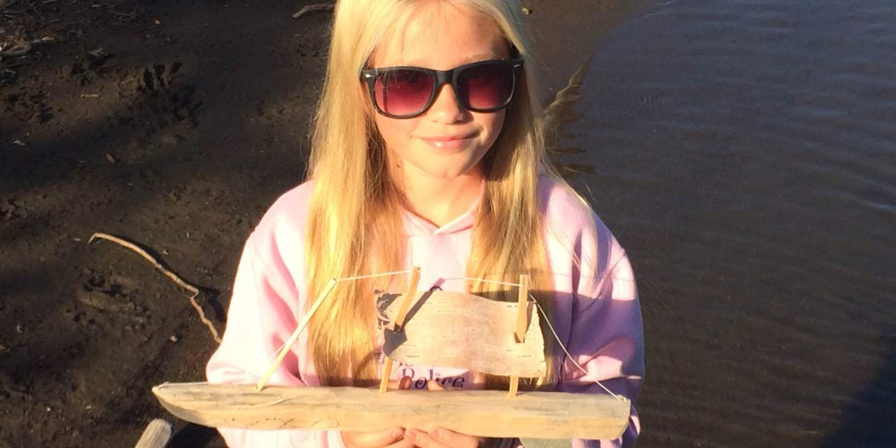 Lost on Lake Superior: One Girl's Quest to Find the Origins of a Wooden Boat