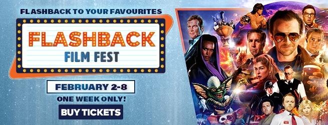Cineplex's Flashback Film Fest Brings Retro Flicks back to the Big Screen