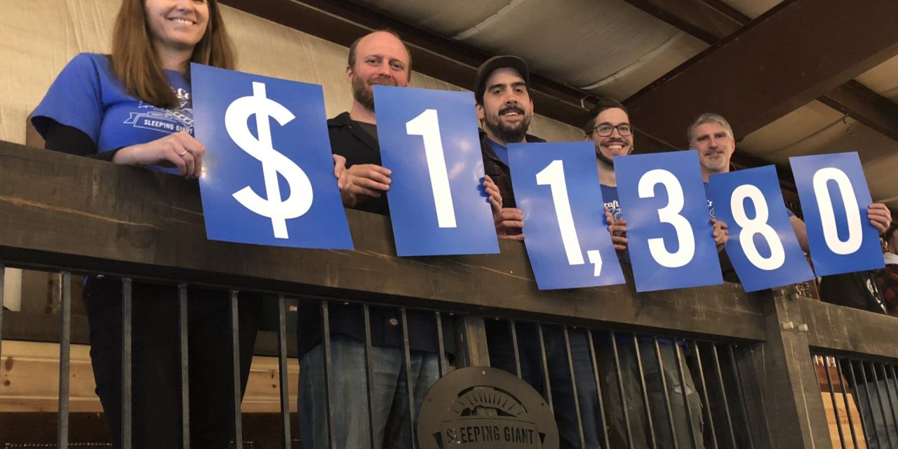 Sleeping Giant Brewing Company Gives Back, 1 Beer at a Time