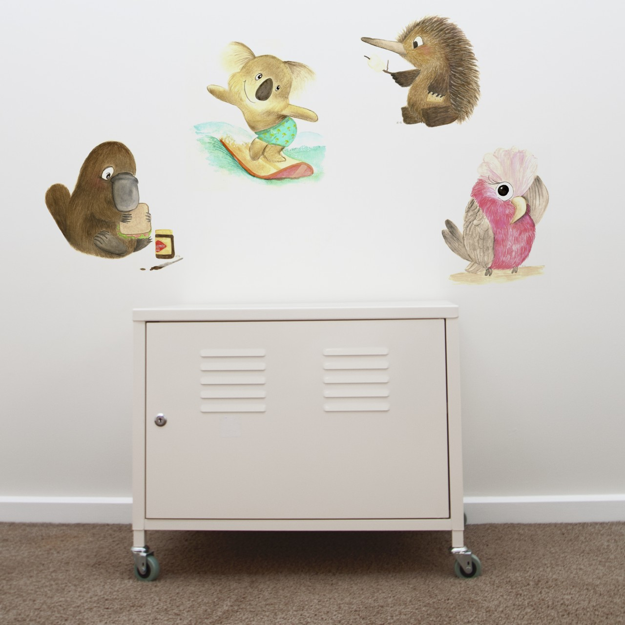 cool wall stickers for nursery homes and custom designs