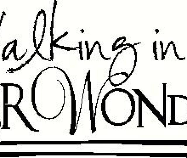 Walking In A Winter Wonderland Vinyl Decal
