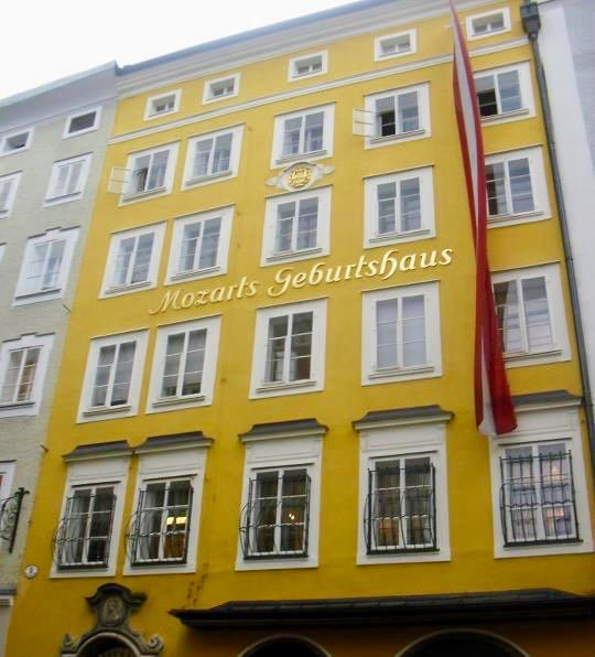 Mozart's Geburtshaus • 5 Underrated Things to Do in Salzburg, Austria | The Wanderful Me
