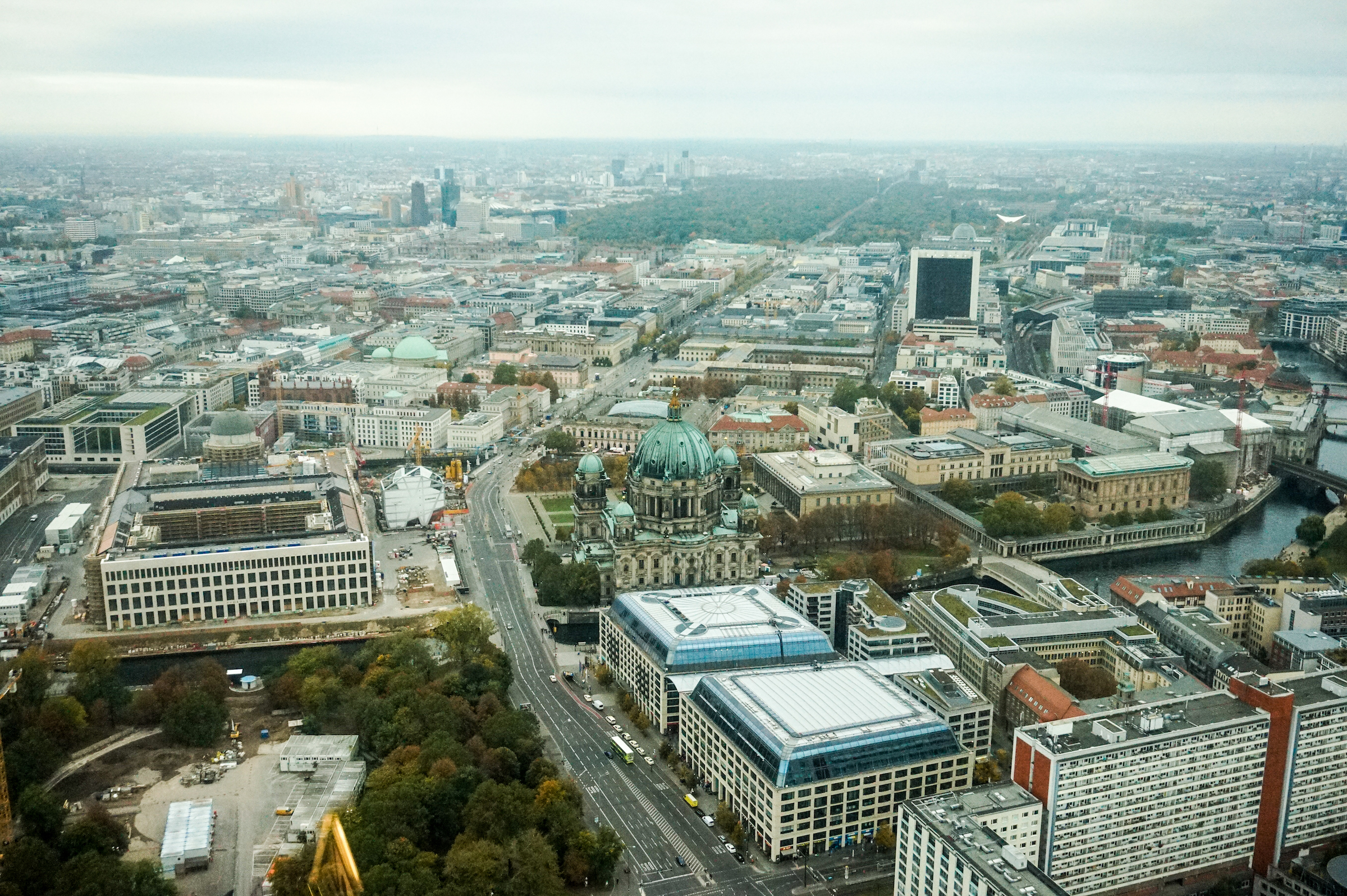 View from TV Tower • 23 Sites to See in Berlin, Germany | The Wanderful Me