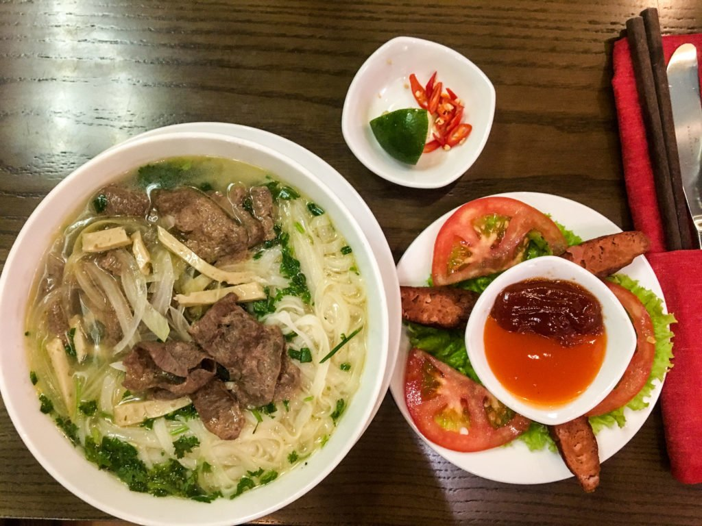 Vegan Vietnamese Pho •16 Remarkably Useful Things to Know Before Traveling to Vietnam | The Wanderful Me