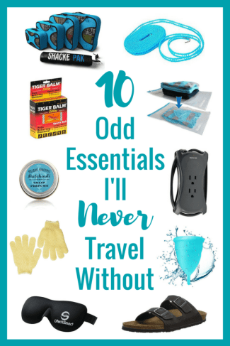 Unsure of what to #pack for your weekend getaway or long-term trip? Check out my list of 10 odd #essentials I'll never #travel without to get some ideas! | The Wanderful Me