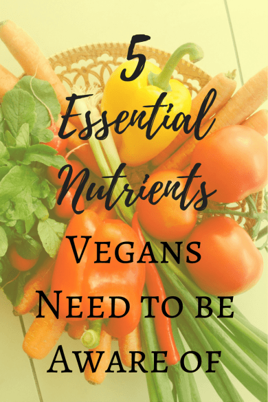 Interested in a #vegan diet or already following a vegan #diet? Make sure to check out my top 5 #essential #nutrients vegans need to be aware of!