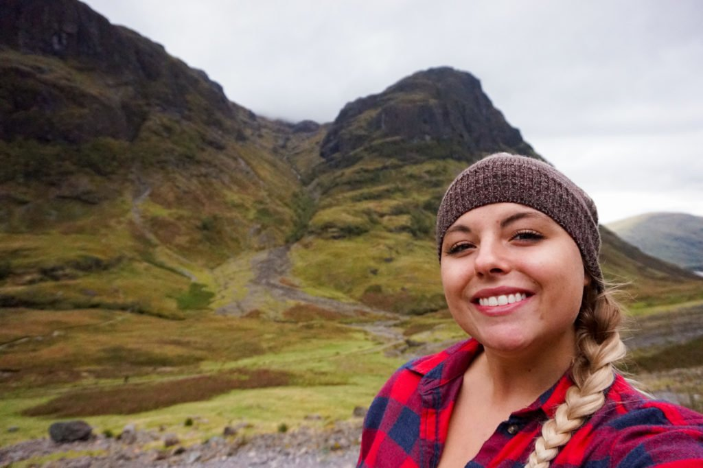 In Front of the Three Sisters •3-Day Tour to Skye, The Highlands, and Loch Ness | The Wanderful Me