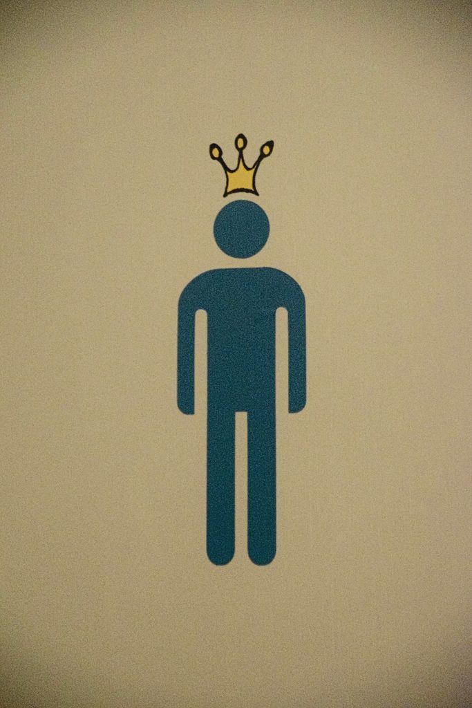 The toilets in Amalienborg, Copenhagen, Denmark