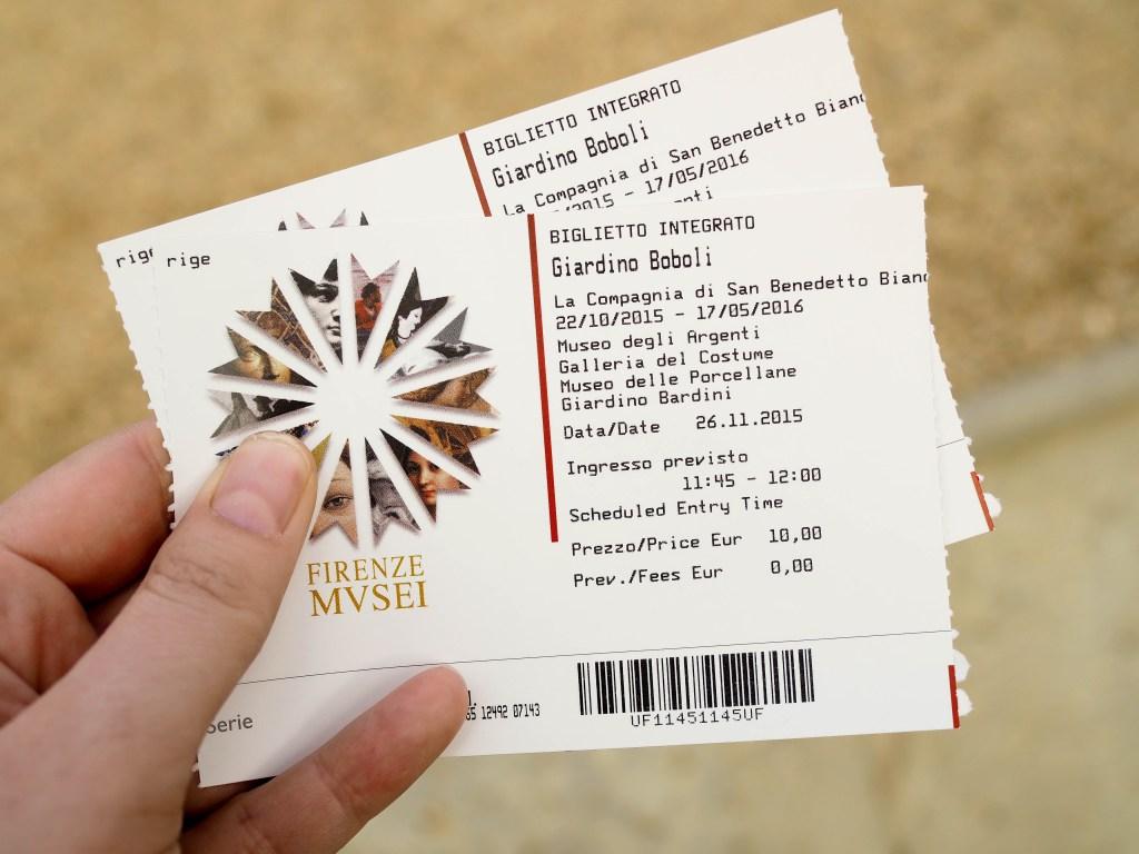 Boboli Gardens Ticket
