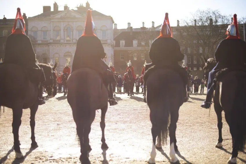 If you're lucky or time your visit right, you can watch the Royal Horse Guards and the Changing of the Guard ceremony.