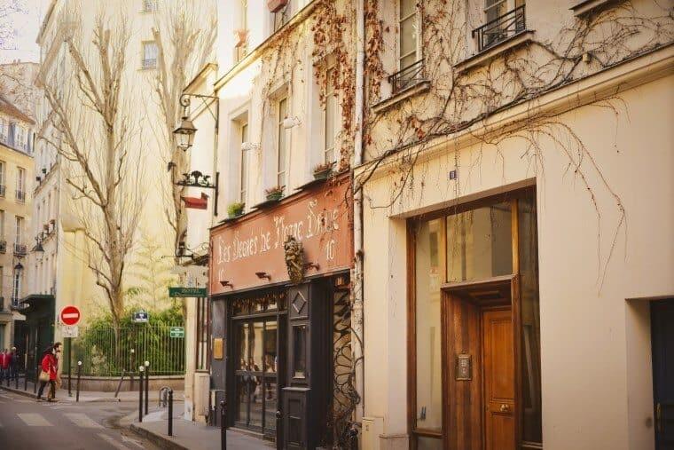 Saint-Michel Paris Street