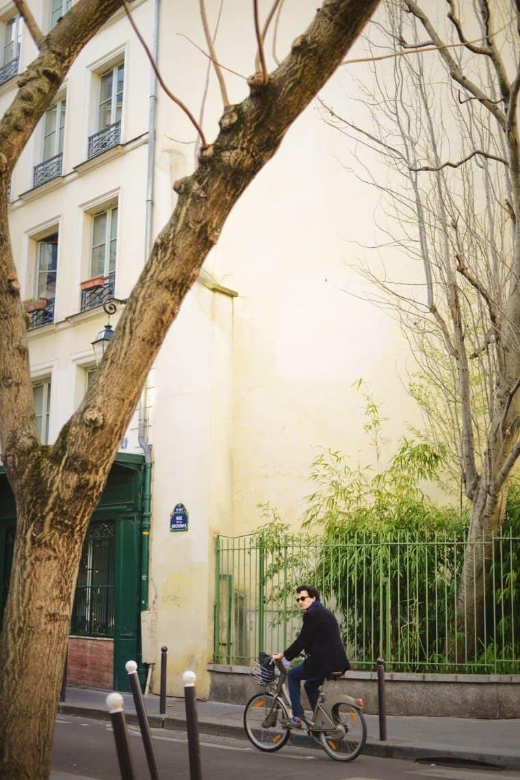 Saint-Michel Street Scene Paris