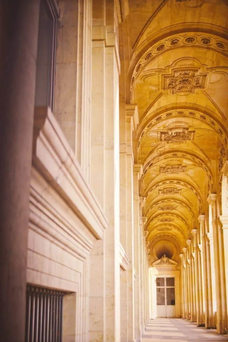 The Louvre Paris Hall