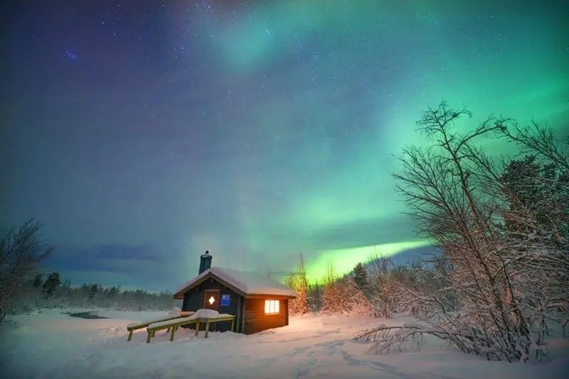 Kiruna, Sweden where to photograph the northern lights