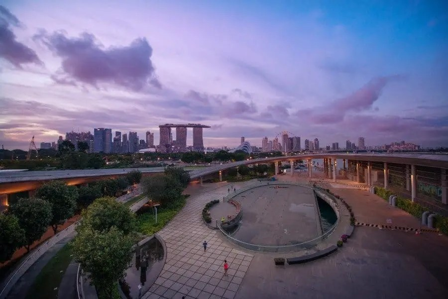 Singapore Photography Locations - Marina Barrage by The Wandering Lens photography Lisa Michele Burns