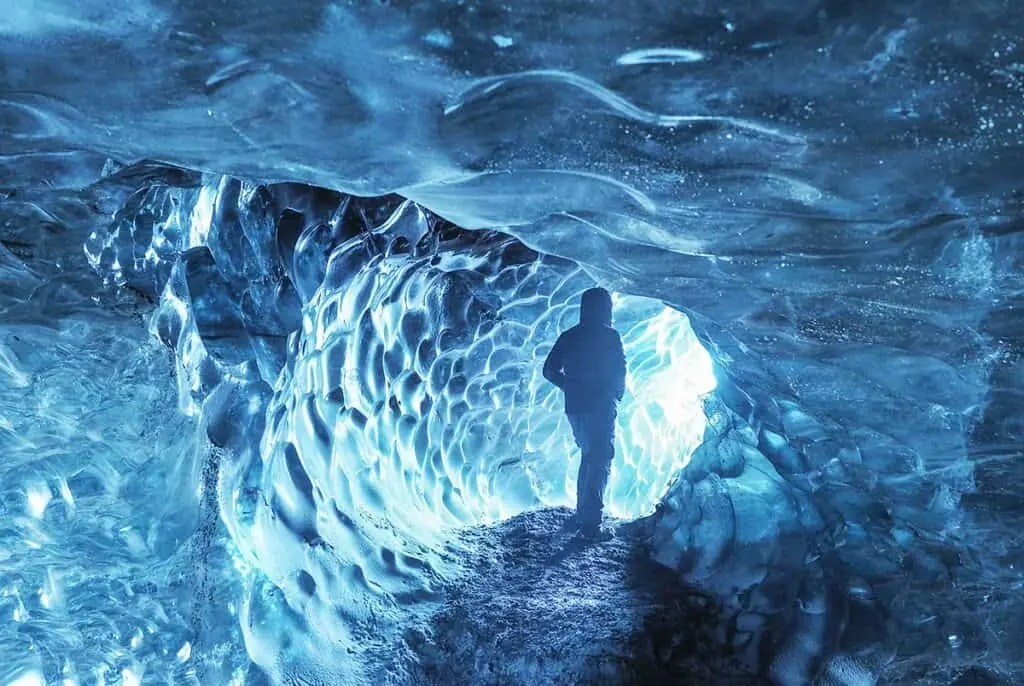 ice caving in Iceland, great photography locations in Iceland